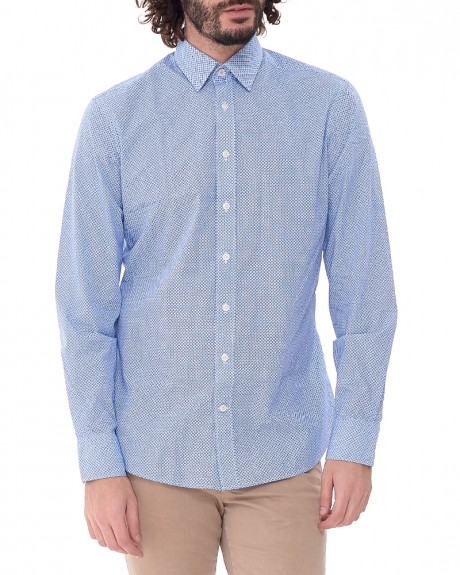 Geometric Pattern πουκάμισο της HACKETT - HM305532