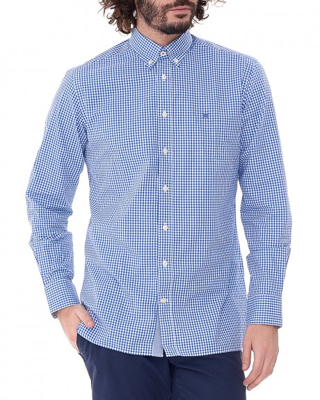 Καρώ πουκάμισο της HACKETT - HM305473