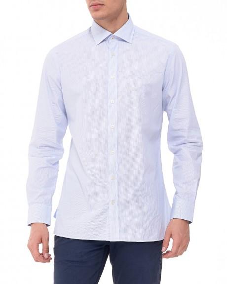 Ριγέ πουκάμισο της HACKETT - HM305470