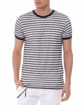 Net Fabric T-shirt της Antony Morato - MMKS00992/FA110045