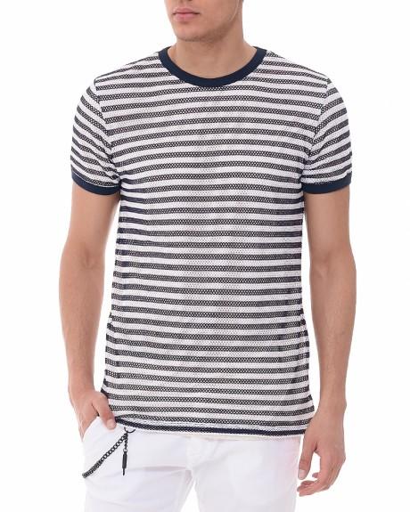 Net Fabric T-shirt της Antony Morato - MMKS00992/FA110045