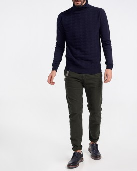 COTTON BLEND CREW NECK ZIBAΓΚΟ ΤΗΣ ANTONY MORATO - ΜMSW00848/YA200055