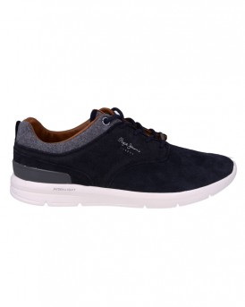 Jayden Light suede Sneaker της PEPE JEANS - PMS30389 JAYDEN