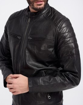 KEITH LEATHER JACKET ΤΗΣ PEPE JEANS - PM401905