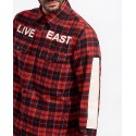 LIVE EAST EAST DIE CHECKED SHIRT ΤΗΣ RELIGION LONDON - 38ILIH12
