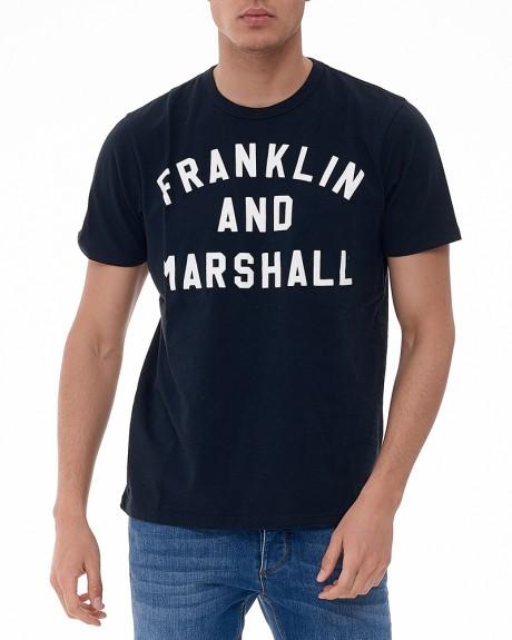 Stamp T-Shirt της Franklin Marhsall - TSMF186AMS17