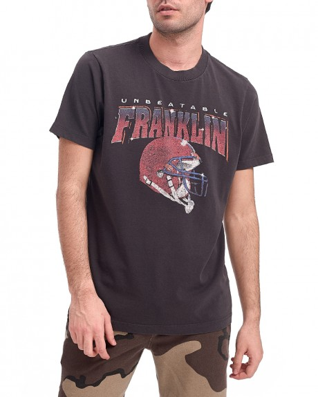 JERSEY ROUND NECK SHORT T-SHIRT ΤΗΣ FRANKLIN MARSHALL - TSMF436ANS18