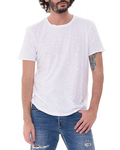 Dot Pattern T-shirt της TOM TAILOR - 1036939.01.12