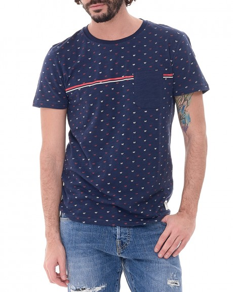 Rackett T-shirt της TOM TAILOR - 1037302.00.12