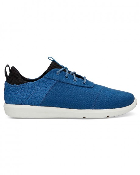 IMPERIAL BLUE CANVAS BASKETWEAVE MEN'S CABRILLO SNEAKERS ΤΗΣ TOMS - 10011568