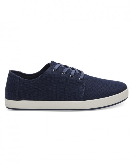 NAVY HERITAGE CANVAS MEN'S PAYTON SNEAKERS ΤΗΣ TOMS - 10011774