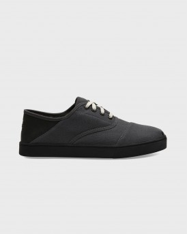 TOMS SNEAKERS FORGED IRON TEXTURED TWILL- 10013538 - ΑΝΘΡΑΚΙ