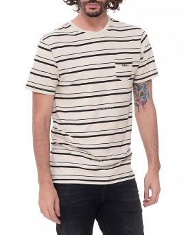 Breaker ριγέ T-shirt της VISSLA - BREAKER