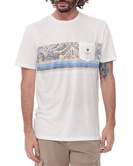 Shark Alley Stamp T-Shirt της VISSLA - SHARK ALLEY