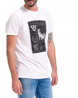 STAMP T-SHIRT ΤΗΣ VISSLA - MISTY MOUNTAINS