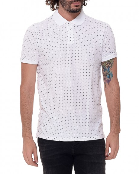 Dotted Polo T-shirt της JACK & JONES - 12121682