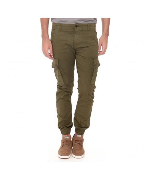 JJIPAUL JJWARNER AKM 168 OLIVE NIG Cargo Παντελόνι της ORIGINALS BY JACK & JONES - 12114752