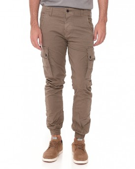 JJIPAUL JJWARNER AKM 168 WALNUT Cargo Παντελόνι της ORIGINALS BY JACK & JONES - 12118688