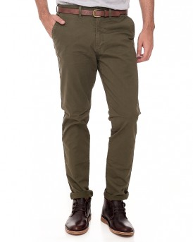 JJICODY JJSPENCER Jeans Intelligence Chino Παντελόνι με ζώνη της JACK & JONES - 12127367