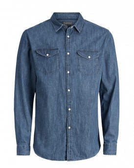 DENIM LONG SLEEVED SHIRT ΤΗΣ JACK & JONES - 12123776 NOOS