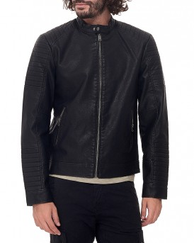 JCOTANO Eco leather biker JACKET της CORE BY JACK & JONES - 12125764