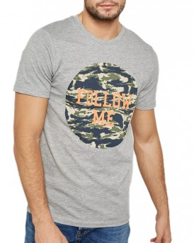 CAMOU PRINTED T-SHIRT ORIGINAL BU JACK & JONES - 12133840