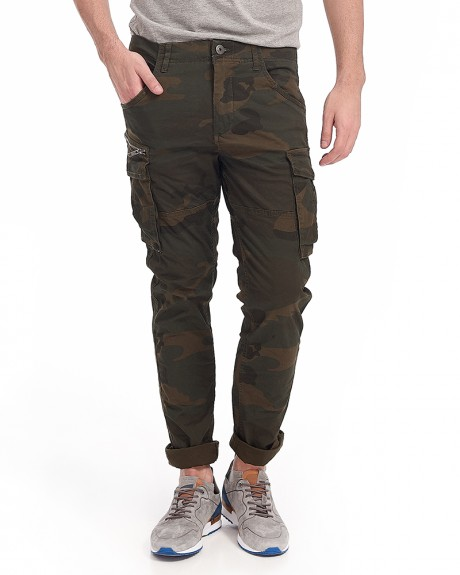 PAUL CHOP WW FOREST NIGHT CAMO STS CARGO PANTS ΤΗΣ JACK & JONES - 12133699
