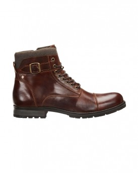AUTUMN LEATHER BOOTS ΤΗΣ JACK & JONES - 12140938 NOOS