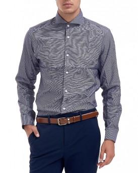 SHDTWOSEL DOB SHIRT L/S πουκάμισο της SELECTED / HOMME - 16057639 - ΜΠΛΕ