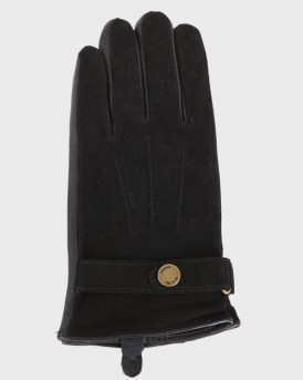 LEATHER GLOVES ΤΗΣ SELECTED - 16057909 - ΜΑΥΡΟ