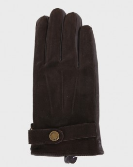 LEATHER GLOVES ΤΗΣ SELECTED - 16057909 - ΚΑΦΕ