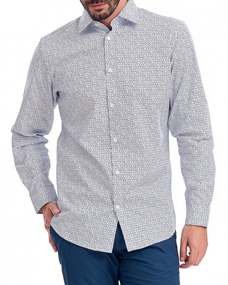 SHDONEPEN-BLISS SHIRT LS AOP STS ΠΟΥΚΑΜΙΣΟ ΤΗΣ SELECTED HOMME - 16060749