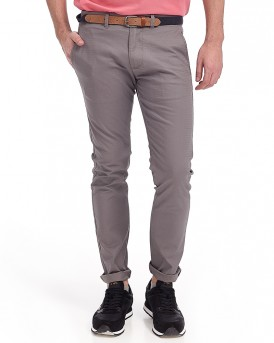 SHHYARD SAND STRUC SLIM PANTS HERITAGE CHINO ΤΗΣ SELECTED - 16061128