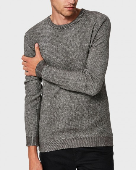 CREW NECK - KNITTED PULLOVER ΤΗΣ SELECTED - 16063655