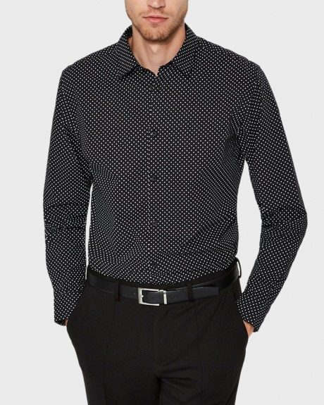 SLIM FIT CASUAL LONG SLEEVED SHIRT ΤΗΣ SELECTED - 16064532