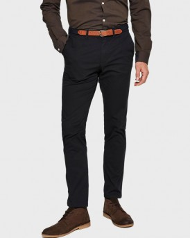 BLACK SLIM FIT CHINOS ΤΗΣ SELECTED - 16062975 NOOS