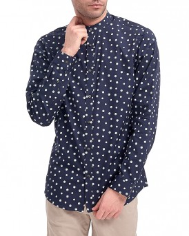 JPEWIGAN GEOMETRIC SHIRT L/S PLAIN ΠΟΥΚΑΜΙΣΟ ΤΗΣ PREMIUM BY JACK & JONES - 12137476