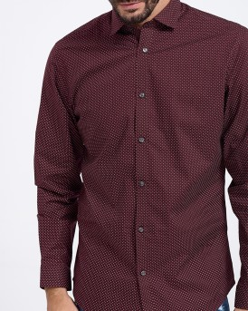 ΠΟΥΚΑΜΙΣΟ MICRO PRINTED LONG SLEEVED SHIRT ΤΗΣ JACK & JONES - 12139801