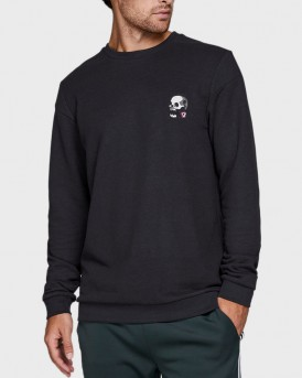 DAY OF THE DEAD CREW NECK SWEATSHIRT ΤΗΣ JACK & JONES - 12141774 - ΜΑΥΡΟ