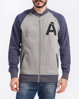 JPRADAM SWEAT BASEBALL JACKET ΤΗΣ JACK & JONES PREMIUM - 12149988