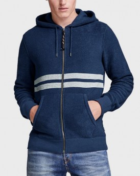 SLIM FIT ZIP-UP HOODIE ΤΗΣ JACK & JONES PREMIUM - 12145048