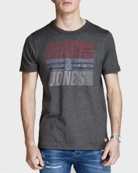 Jack & Jones T-Shirt Retro Look - 12145097 - ΜΠΛΕ