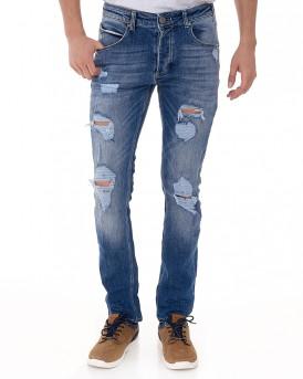 Rey Jeans της GABBA REY K1019 - ΜΠΛΕ