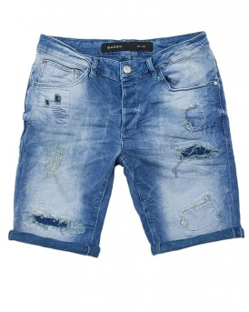 JASON DESTROY Jeans Βερμούδα της GABBA - JASON SHORTS K2112