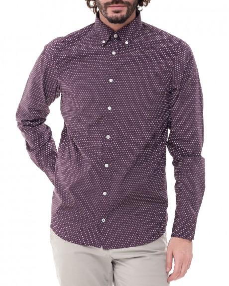 Cyrlce pattern πουκάμισο της TOMMY HILFIGER - MW0MW00185