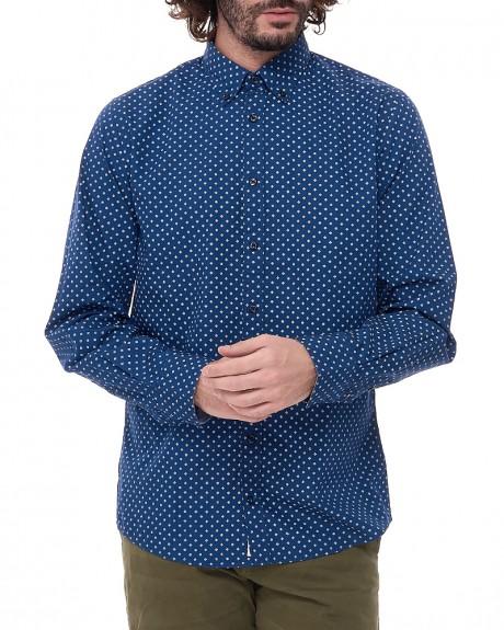 Αll over pattern πουκάμισο της TOMMY HILFIGER - MW0MW00616