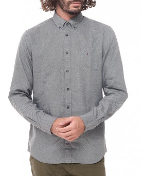 Dot pattern πουκάμισο της TOMMY HILFIGER - MW0MW03035