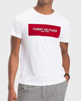 T-SHIRT BOX LOGO TEE ΤΗΣ TOMMY HILFIGER - MW0MW08351