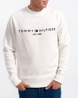 PLAIN COLOR LOGO SWEATER ΤΗΣ TOMMY HILFIGER - MW0MW07948