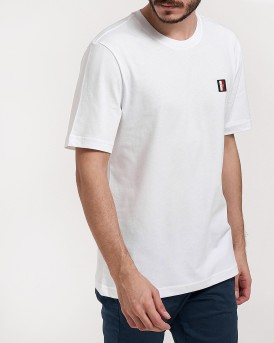 T-SHIRT ICON WOVEN LABEL RELAX FIT TEE ΤΗΣ TOMMY HILFIGER - ΜW0MW09828